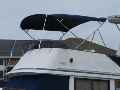 Neptune 42 Sundeck Flybridge Bimini_1