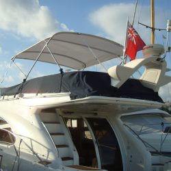 Sealine 42/5 Bimini, supplied self fit_2