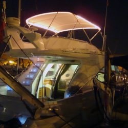 Sealine 42/5 Bimini, supplied self fit with customer added lighting_1