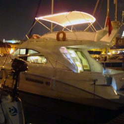 Sealine 42/5 Bimini, supplied self fit with customer added lighting_2
