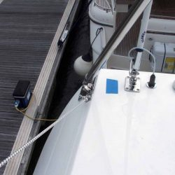 Sealine F42 Flybridge Bimini, note supplied with wire strops,not straps_6