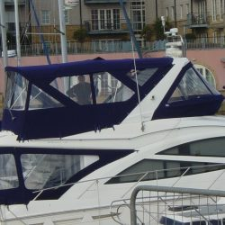Sealine T50 Flybridge Bimini and Bimini Conversion_2