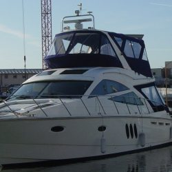 Sealine T50 Flybridge Bimini and Bimini Conversion_3