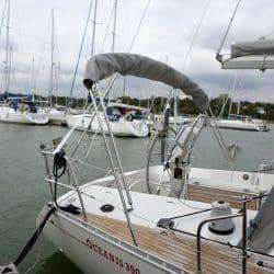 Beneteau Oceanis 390 Bimini, SAIL RECUT TO RAISE BOOM_5