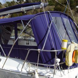 Beneteau Oceanis 393 Bimini, with optional conversion_2