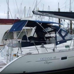 Beneteau Oceanis 411 new design Bimini_1