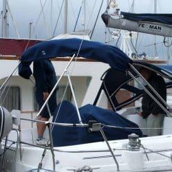 Beneteau Oceanis 411 new design Bimini_4