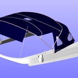 Beneteau Oceanis 411 new design Bimini_5