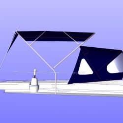 Beneteau Oceanis 411 new design Bimini_6