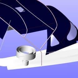 Beneteau Oceanis 411 new design Bimini_7