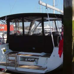 Beneteau Oceanis 45 Bimini shown with optional Bimini Conversion_2