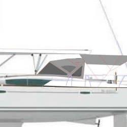Beneteau Oceanis 46 Bimini, 2019 redesign_8