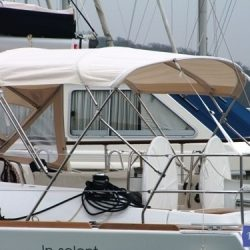 Beneteau Oceanis 46 bimini with optional zipped aft extension_4