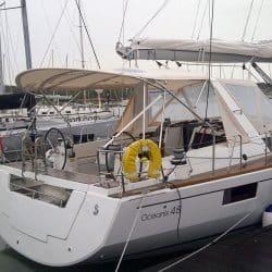 Beneteau Oceanis 48 Bimini_4