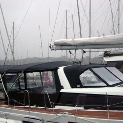 Beneteau Sense 43 Bimini, with Optional Bimini Conversion_1