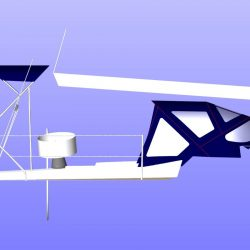 Dehler 35cws, TRIPLE CONSTRAINT, Helm Bimini_8