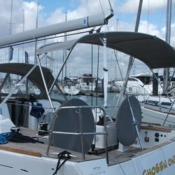 Dufour 45 Performance Helm Bimini and Bimini Extension_6