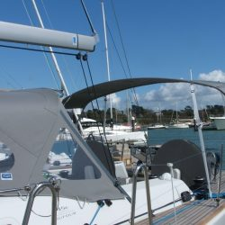 Dufour 45 Performance Helm Bimini and Bimini Extension_8