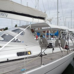 Grand Soleil 56, Mad Monkey, 3 part Bimini with Side Shade Panels_1