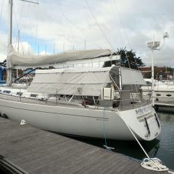 Grand Soleil 56, Mad Monkey, 3 part Bimini with Side Shade Panels_11