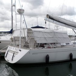 Grand Soleil 56, Mad Monkey, 3 part Bimini with Side Shade Panels_12