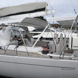 Grand Soleil 56, Mad Monkey, 3 part Bimini with Side Shade Panels_3