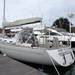 Grand Soleil 56, Mad Monkey, 3 part Bimini with Side Shade Panels_4