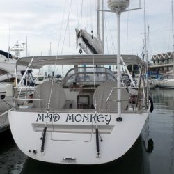 Grand Soleil 56, Mad Monkey, 3 part Bimini with Side Shade Panels_5
