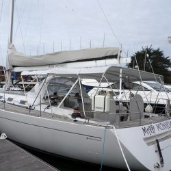 Grand Soleil 56, Mad Monkey, 3 part Bimini with Side Shade Panels_7