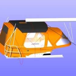 Hanse 345 Bimini shown with Tecsew Cockpit Enclosure for comparison_9