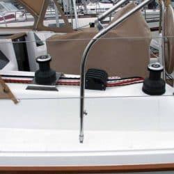 Hanse 385 Bimini with Optional height adjustment