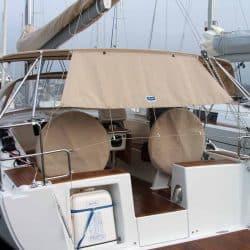 Hanse 385 Bimini with Optional Side Shade Panels_1