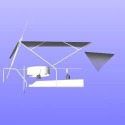 Hanse 400 Bimini with optional side shade panels_10