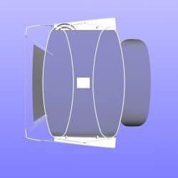 Hanse 400 Bimini with optional side shade panels_8