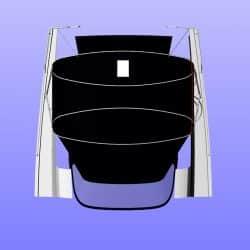Hanse 445 Bimini with optional Sprayhood Infill Panel_16