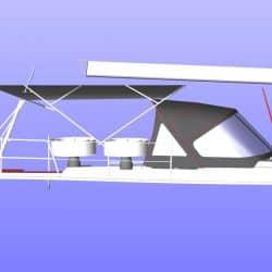 Hanse 455 Bimini Aft Extension_6
