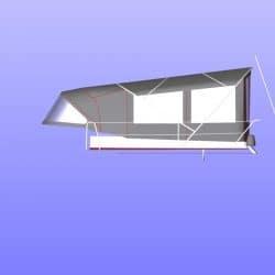 Hanse 531 Bimini Conversion_5