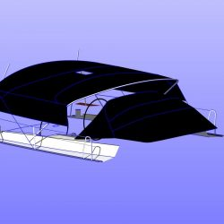 Hanse 540e Bimini with optional Side Shade Panels_11
