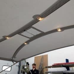 Hanse 548 Bimini with optional LED light fittings_11