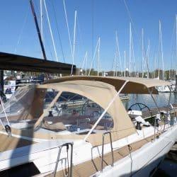 Hanse 575 Bimini, wider non standard design_1