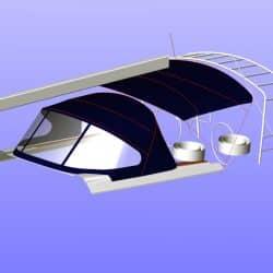 Hanse 575 Bimini, wider non standard design_10