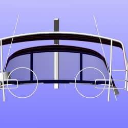 Hanse 575 Bimini, wider non standard design_12