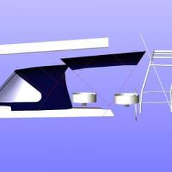 Hanse 575 Bimini, wider non standard design_13