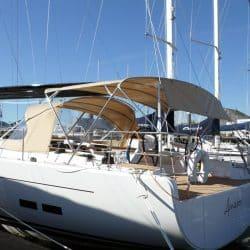 Hanse 575 Bimini, wider non standard design_2