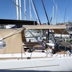 Hanse 575 Bimini, wider non standard design_4
