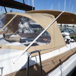Hanse 575 Bimini, wider non standard design_5