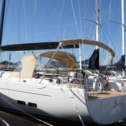 Hanse 575 Bimini, wider non standard design_7