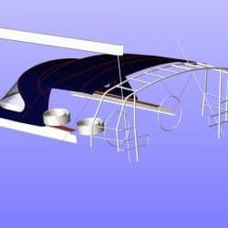 Hanse 575 Bimini, wider non standard design_9