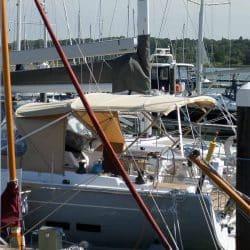 Hanse 575 Narrow standard Bimini_2