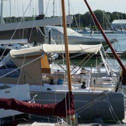 Hanse 575 Narrow standard Bimini_3